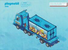 Playmobil Bauanleitung 4068 Geburtstagstruck