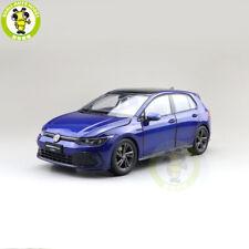 1/18 VW Volkswagen Golf 8 R Line Diecast Model Toys Car Boys Girls Gifts Blue