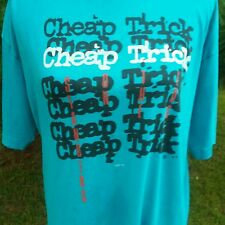 Vintage Cheap Trick Standing On The Edge T Shirt 1986