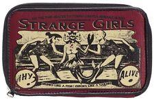 Sourpuss Strange Girls Clutch Wallet NEW Horror Goth Halloween Sideshow Circus
