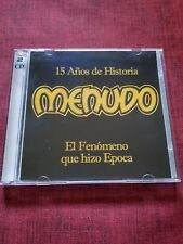 15 Anos de Historia by Menudo (CD, Jul-1998, 2 Discs, RCA)