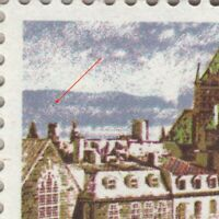 Variety Unlisted = UFO IN SKY = Quebec City MNH Canada 1978 #601 [ec102]