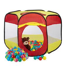301 tlg. Bällebad Set, Bällebecken mit Bällen, Bällepool Kinder, 300 Babybälle