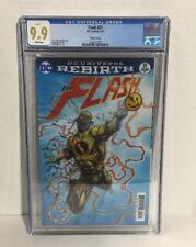 Flash 21 Lenticular Variant CGC 9.9 DC Button watchmen batman 1st print