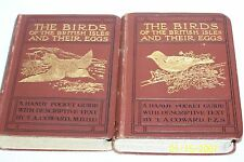 The Birds of the British Isles and Their Eggs, 2 Vols. by T. A. Coward 1919 U.K