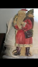 Cardboard German Santa Claus around 1900 about 50cm or 19.5�