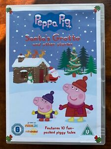 Peppa Pig DVD Santa's Groto + Stories British TV Children's Cartoon Favourite