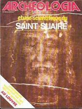 ARCHEOLOGIA 05-1979 / VILLENEUVE-TOLOSANE, le SAINT-SUAIRE, SAINT-SORLIN D'ARVES
