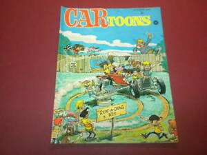 CARTOONS/CAR TOONS magazine 1969 OCTOBER - Petersen Publishing racing hot rods