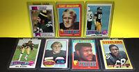 1971 Topps Terry Bradshaw Rookie +70s Steelers RC Lot Harris, Greene, & More...