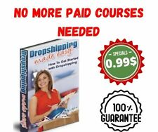Dropshipping Made Easy Pdf eBook with 5 Bonus eBooks + Full master Resell Right