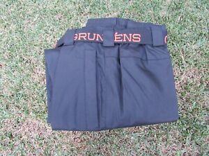 Black Grundens Weather Watch Waterproof Sport Fishing Rain Pants Trousers Large