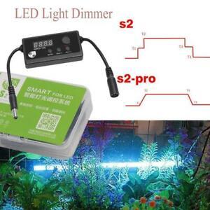 S2-PRO Aquarium Light Controller LED Dimmer Modulator F Fish Tank  Programmable