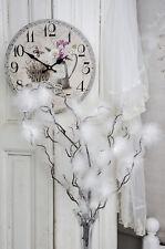 Osterzweig Zweig Weihnachten Federn Ostern Kunstblume Shabby Chic Landhaus