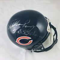 William Perry Chicago Bears Signed SBXX Champs Full Size Replica Helmet JSA COA