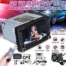 Per VW Golf 5 6 Passat Seat Skoda Touran 7'' 2 Din Autoradio  DVD Player GPS