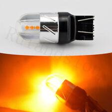 2X T20 7440 7443 AMBER 3030 6SMD LED CAR INDICATOR TURN SIGNAL LIGHT BULB 12-24V