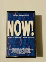 Now That's What I Call Music 18 Double Cassette Tape Original - 32 Chart Hits