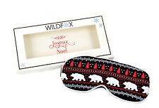CHRISTMAS DEAL Wildfox Women's Alaska Bears Sleep In Eye Mask RRP £30 BCF69