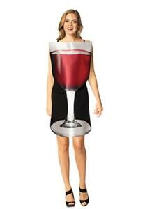 Women's Get Real Glass of Red Wine Halloween Costume