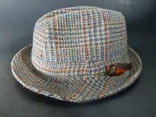 7c170eee6fd Vintage SHANDON Donegal Tweed Wool Irish Fedora Hat size 7 or 57 M Ireland
