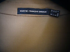 Marithé + Francois Girbaud Shirt  Bluse Tricot Beige  - Gr S 36