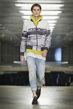 G Star Men's 'Yoshem Raw' Ferry Print Mesh Bomber Jacket Rare Size XL New