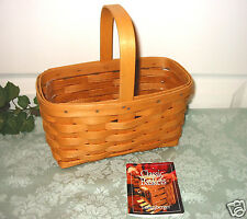 Longaberger 1999 Candle Basket & Protector - Classic Stain