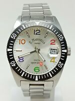 Orologio Marinella 7081 diver watch all stainless steel clock diving montre