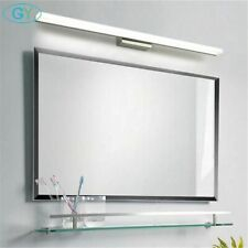 Modern Led Mirror Light Stainless Steel Aluminum Vanity Washroom Wall Lamp Deco