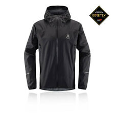 Haglofs Mens L.I.M Comp Jacket Top - Black Sports Outdoors Waterproof Breathable