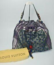 LOUIS VUITTON Sunbird  2009 Limited Edition Purple Lurex Large bag