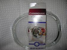 NEW Pyrex Glass Replacement Lid DC-1.5C Corning Ware Oval French White Casserole