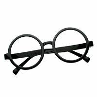 Harry Potter Plastic Glasses Costume Props Round Black - New