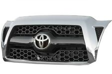For Toyota Tacoma 2011 Chrome & Black Honeycomb Grille Assembly Genuine OEM