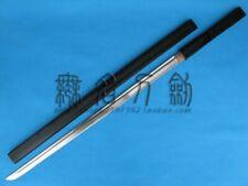 "S1812 JAPANESE ANIME NARUTO SASUKE KUSANAGI SWORD BRUSH HAMON BLADE BLACK 40.7"""