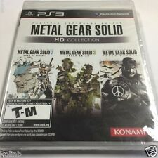Metal Gear Solid HD Collection (Sony PlayStation 3, 2011) NEW