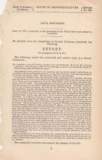 House of Representatives: Anna Koeniger - April 16, 1878