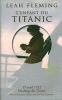 Livre l'enfant du Titanic Leah Fleming  book