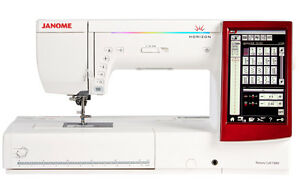 Janome Memory Craft 14000 Sewing Embroidery and Quilting Machine Refurbished