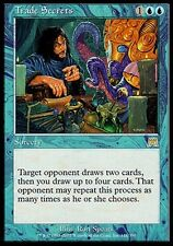 1x Trade Secrets Onslaught MtG Magic 1 x1 Blue Rare Card Cards