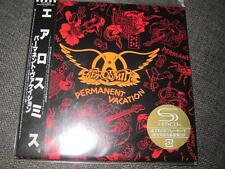 AEROSMITH Permanent Vacation JAPAN MINI LP SHM CD INNERSLEEVE 5000copy LTD 24BIT