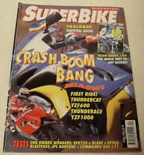 SuperBike 4/96 Yamaha Thunderace Thundercat JPS Norton F1 Commando Laverda Ghost