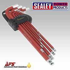 Sealey AK7164 Ball End Hex Key Set 11pc X Long Metric
