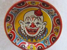 Vintage Clown Clapper Tin Lithograph Noisemaker