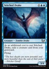 4 STITCHED DRAKE ~mtg NM Duel Deck Com x4 Blessed vs Cursed