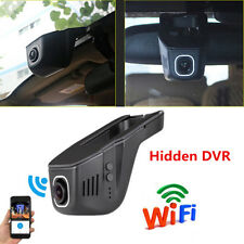 170° FHD 1080P WIFI Hidden Camera Car DVR Dash Cam Video Recorder Night View