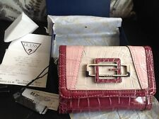 GENUINE GUESS TRI-FOLD PURSE/WALLET, WITH TAGS AND BOX