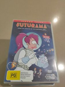 Futurama - Season 3  DVD   4 disc set