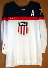 TEAM USA 2014 SOCHI OLYMPICS SULLIVAN HOCKEY JERSEY